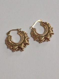 Silver Plated Brass Mandala Style Earrings Boho Indian White Brass 3.2cm NEW UK