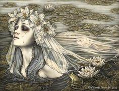 Wedding Veil by Victoria Frances #frog #princess #fairytale