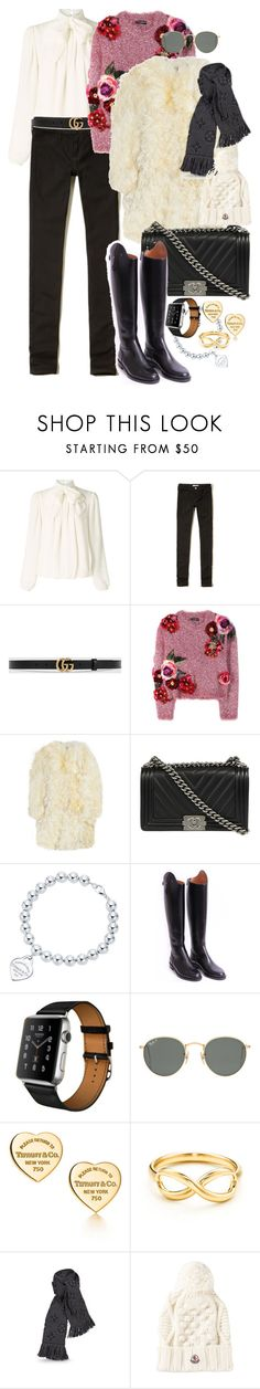 """""""Totally in the winter-mood"""" by monikakrummradt ❤ liked on Polyvore featuring Somerset by Alice Temperley, Hollister Co., Gucci, Dolce&Gabbana, Yves Saint Laurent, Chanel, Tiffany & Co., Hermès, Ray-Ban and Moncler"""