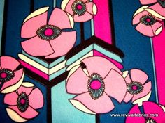MOD retro vintage fabric | Flickr - Photo Sharing!