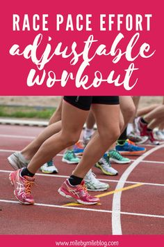 This running workout gets you comfortable with running a variety of paces. Try this race pace effort adjustable workout to help you prepare for a variety of distance races. Running Guide, Running Workouts, Can Run, How To Run Faster, Effort, Improve Yourself, Bodybuilding, Racing, Weight Loss