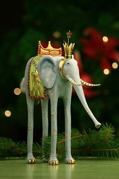 Krinkles, Patience--I need this under my elephant Christmas tree!