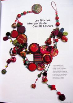 Necklace by French creator Camille Lescure