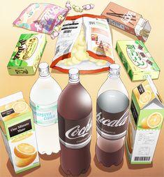 Anime Food   via Tumblr