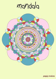 Poppy Makes... a Mandala colouring page. This FREE printable is available in PDF format on my blog for you to download. Have fun!  #PoppyMakes #Mandala #Zentangle #Colour #Color #Colouring #Coloring #ColouringPage #ColouringBook #ColoringPage #ColoringBook #AdultColouring #AdultColouringBook #AdultColoring #AdultColoringBook #FREE #Download #PDF #Printable #Template #DIY #Crafternoon #CreativeLife #CreateEveryday #Illustrator #Follow #Like #FaceBook #Instagram #YouTube