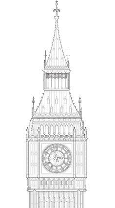 London Elevations detail by studio esinam