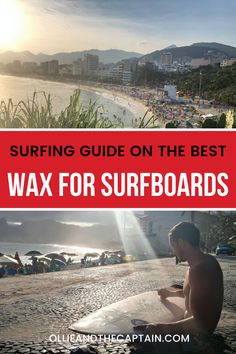 It's not only the smell of neoprene that gets surfers excited - surf wax can have the same affect! But picking your surf wax based on its smell alone is not a smart choice and can cut your surf short. Read our top suggestions on the best wax for surfboards in different water temperatures in our latest blog post. #surfwax #surftips #surfguide Surf Shorts, Surfboards, Surfers, Wax, Around The Worlds, Good Things, This Or That Questions, Blog, Surf Girls