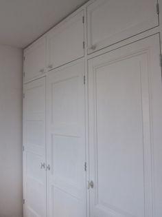 Kastenwand van oude deuren   project   Nils Verweij