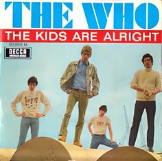The Who  - The Kids Are Alright  /  It's Not True  /  I Don't Mind  /  Please Please Please   (French EP)    [1966]