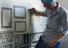 hand drawn wallpaper