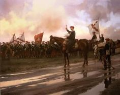 Misa de Campaña (3ª Guerra Carlista), obra de Augusto Ferrer-Dalmau