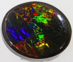 1.21 CTS BLACK  OPAL - LIGHTNING RIDGE- [SOB39] Boulder Opal, Australian Boulder Opal