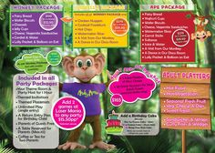 Party Packages - Monkey Mania Docklands