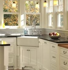 Merveilleux Country Farmhouse Sink Love This Corner Apron With Corner Farmhouse Sink.