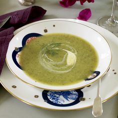 Peter Ting's soothing, mellow soup gets a refreshing tang from a swirl of crème fraîche. It is terrific served hot or cold.     More Zucchini Re...