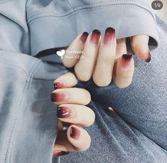Pin by Marian Ladeza on Beauty Board in 2019 Nails Gradiant nails Gel Nails Pin by Marian Ladeza on Beauty Board in 2019 Nails Gradiant nails Gel Nails Cute Nail Art, Cute Acrylic Nails, Cute Nails, Stylish Nails, Trendy Nails, Gradiant Nails, Do It Yourself Nails, Korean Nails, Korean Nail Art