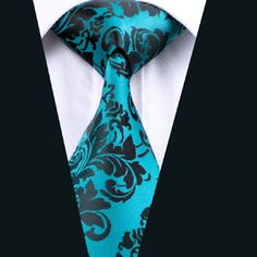 Men or Boys CHOSE FROM A TIE,CRAVAT,HANK TURQUOISE BROCADE ACCESSORIES