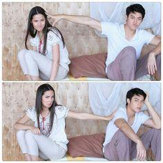 Mark Prin, Korean Drama Quotes, Skate T Shirts, Act Like A Lady, Girly Drawings, Thai Drama, Sweet Couple, Life Photo, Drama Movies