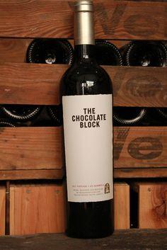 The Chocolate Block Wines, Red Wine, Barrel, Alcoholic Drinks, Chocolate, Bottle, Glass, Barrel Roll, Drinkware