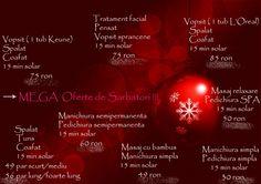 Mega oferta in luna decembrie!! Pentru ca meritati!!! House Of Beauty, Loreal, Salons, Facial, Hair, Whoville Hair, Lounges, Facial Care, Face Care