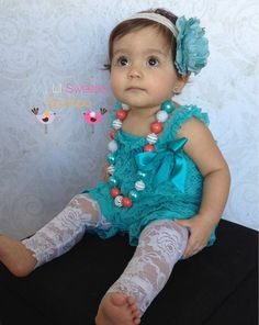 NEW Jade romper- peacock romper- newborn outfit- baby outfit- toddler outfit-  birthday outfit