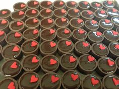 valentine's salted caramel tarts (great for weddings or engagement parties) Salted Caramel Tart, Engagement Parties, Tarts, Minis, Valentines, Weddings, Mince Pies, Valentine's Day Diy, Pies