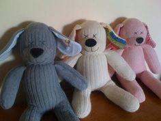 DIY: hacer muñecos con calcetines