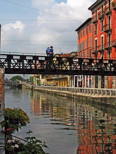 Bridge, Navigli's District, Milan, Italy