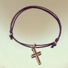 "#Bracelet ""The Little C"" #collection ""I Got Mine"" #charms #HandMade #MadeInFrance #Lifestyle #rio #bresil #brasil #france #cross"