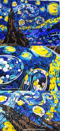 Starry Night like you have never seen before...