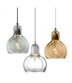 Mega Bulb Pendant Light Replica - 3 colours