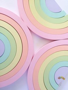 These Large beautiful pastel rainbows, are absolutely stunning and look amazing in a nursery, playroom or childs room. Each rainbow is hand sanded, primed and hand painted in stunning custom mixed, soft pastel chalk paints, and finished off with a coat of natural beeswax. They make fabulous shelf decorations, and due to being unisex are brilliant if you are yet to know the gender of your baby. Also a lovely gift for someone expecting a rainbow baby. These colours are so soft and are sure to…
