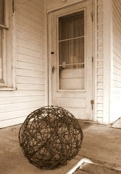 barbed wire tumbleweed by michael