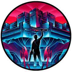 Neon Movie Poster Designs - VanOrten