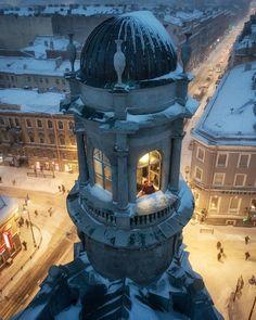башня на Пяти углах. Автор фото: Иван Смелов (Smelov. photo).