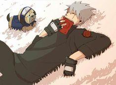 <3 Kakashi & Pakkun (Ninja Hound)