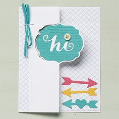 Label Card Thinlits Die - Stampin' Up!