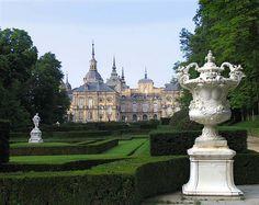 Jardines Reales de La Granja de San Ildefonso. Segovia. España.