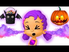 Bubble Guppies Halloween Baby Shark melody Trick or Treat Nursery Rhyme for kids - YouTube