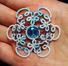 beaded tatting