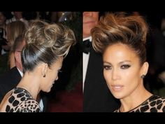 Jennifer Lopez Updo Hairstyle at the 2013 Met Ball