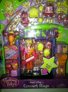 Polly Pocket stage