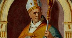 St. Hugh of Grenoble (1052-1132) served as a bishop in France for 52 years. In conflicts between Church and state he was an unflinching defender of the Church. He fearlessly supported the papacy. St. Hugh may be best known as patron and benefactor of St. Bruno, founder of the Carthusian Order.