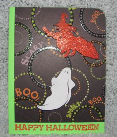 I just listed Happy Halloween Ghouls A2 greeting card ghosts witches spooky on The CraftStar @TheCraftStar #uniquegifts