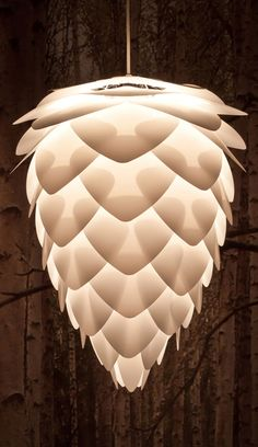 Conia lampshade // nature-inspired design. so beautiful.