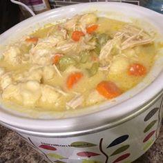 Easy Slow Cooker Chicken and Dumplings - Allrecipes.com