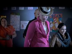 Uptown Funk ala librarians - loop a variety of Library Parodies on the flat screen...