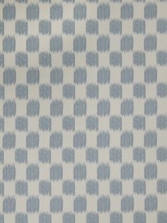 Ikat check pattern 02604 in Denim from the Jaclyn Smith Home - Volume III collection for Trend.