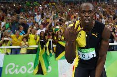 O Raio que sempre cai no topo do pódio: Bolt dá adeus com tri do 4x100…