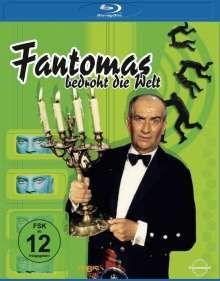 Fantomas bedroht die Welt (Blu-ray), Blu-ray Disc